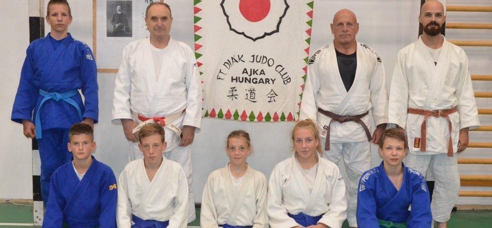 Ismét van Ajkán országos bajnok utánpótlás korú judoka!